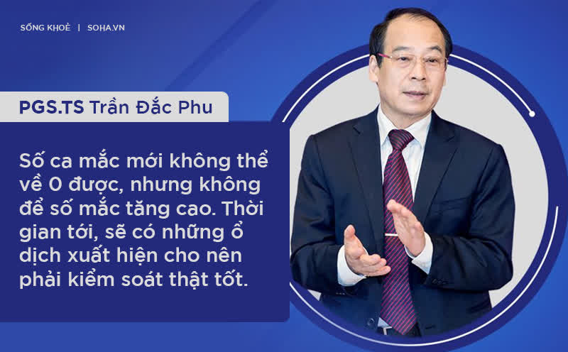 """PGS Trần Đắc Phu: Đừng để """"đốm lửa"""" thành """"đám cháy"""". Nếu số ca Covid-19 ở Việt Nam lên tới 10.000, thiệt hại kinh tế rất lớn!"""