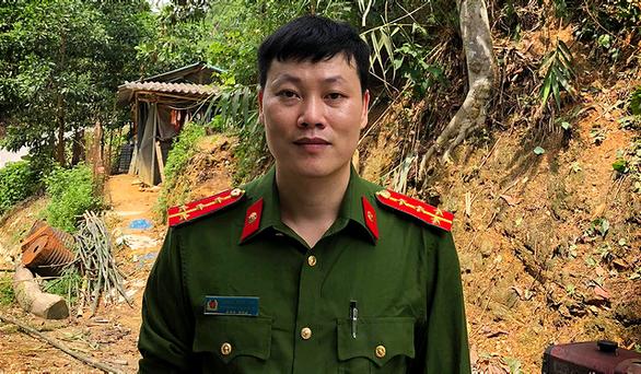 Đại úy công an lao mình xuống dòng lũ xiết cứu người ở Tuyên Quang - Ảnh 1.