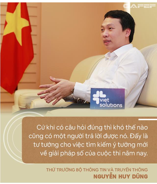 Thứ trưởng Bộ TTTT: Với Viet Solutions thời Covid, các đội thi nên nghĩ tới việc biến đau thương thành cơ hội! - Ảnh 2.