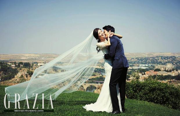 """""""Mợ út tài phiệt của Mine"""" Lee Bo Young: Hoa hậu bị gán mác tiểu tam, cự tuyệt tài tử Ji Sung rồi lại cùng chàng có kết đẹp như cổ tích - ảnh 13"""