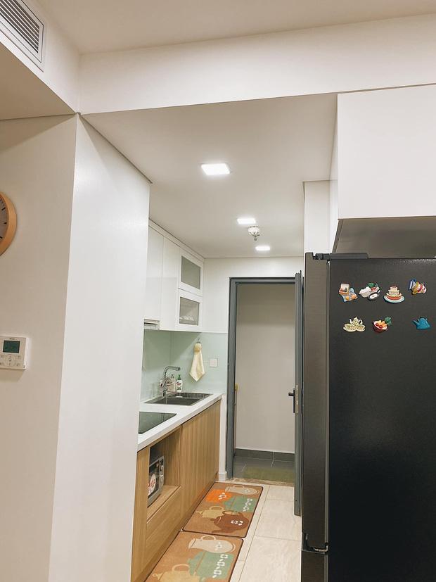 Mua chung cư 72m2, vợ chồng mới cưới tự tay thiết kế từng góc theo phong cách Hàn Quốc, chơi thêm cả bể cá ban công - Ảnh 4.