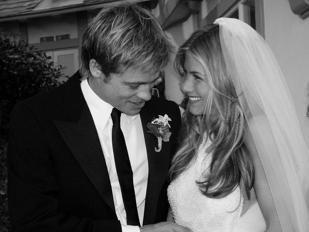 Hôn nhân đầu tiên của Brad Pitt: Tỏ tình trên thảm đỏ rồi toang vì tiểu tam Angelina, từ thù thành bạn với vợ cũ sau 15 năm - Ảnh 4.