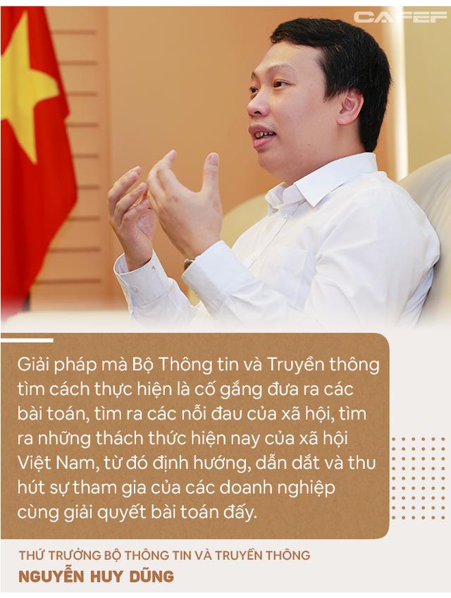 Thứ trưởng Bộ TTTT: Với Viet Solutions thời Covid, các đội thi nên nghĩ tới việc biến đau thương thành cơ hội! - Ảnh 4.