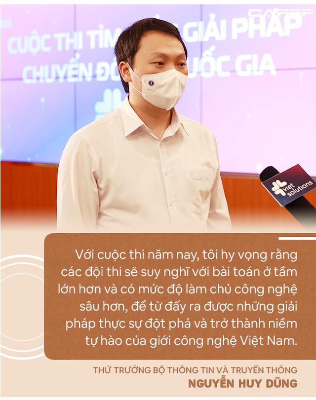 Thứ trưởng Bộ TTTT: Với Viet Solutions thời Covid, các đội thi nên nghĩ tới việc biến đau thương thành cơ hội! - Ảnh 7.