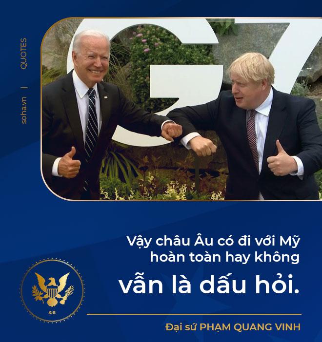 Tổng thống Biden công du châu Âu: Giải bài toán Trung Quốc, phép thử từ đồng minh và tính toán với nước Nga - Ảnh 4.