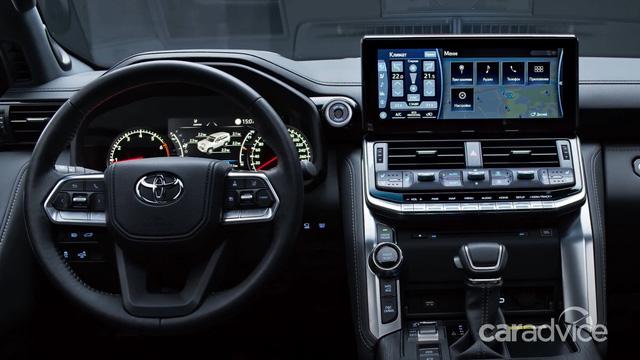 Soi từng ngóc ngách Toyota Land Cruiser 2022 vừa ra mắt: Hoàn thiện đỉnh cao, độ sang tiệm cận Lexus LX 570 - Ảnh 9.