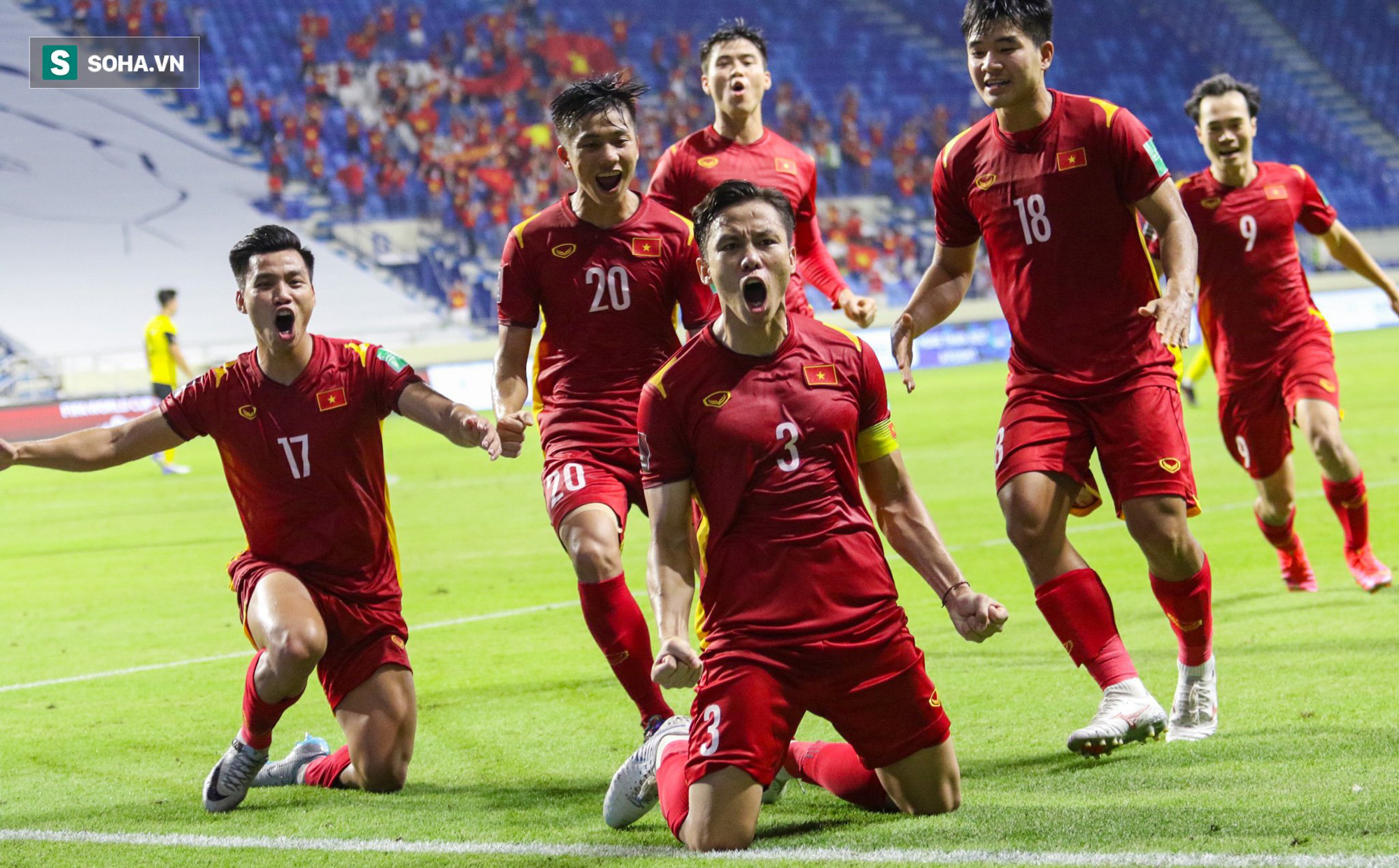 ĐT Việt Nam nhận thưởng nóng 3 tỷ đồng sau trận thắng kịch tính trước Malaysia