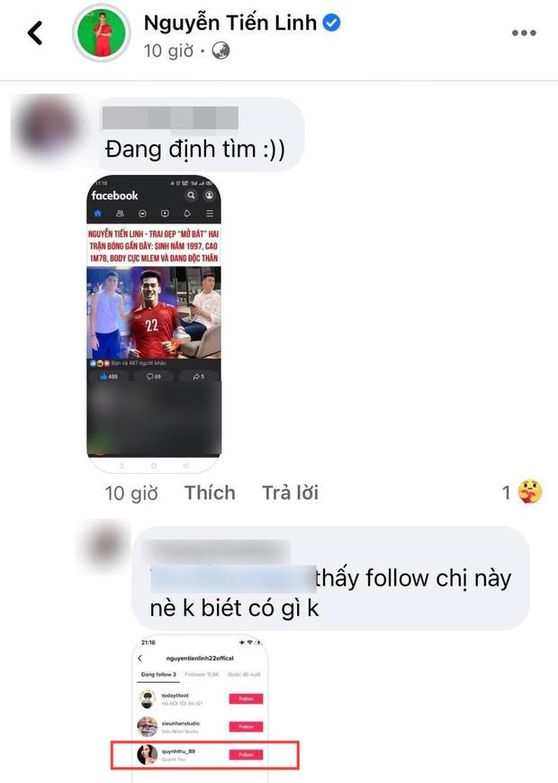 """Hoá ra Tiến Linh đã nhập hội """"chỉ follow mình em"""", nữ chính không phải Hồng Loan mà là 1 mỹ nhân sexy đình đám Vbiz? - Ảnh 3."""