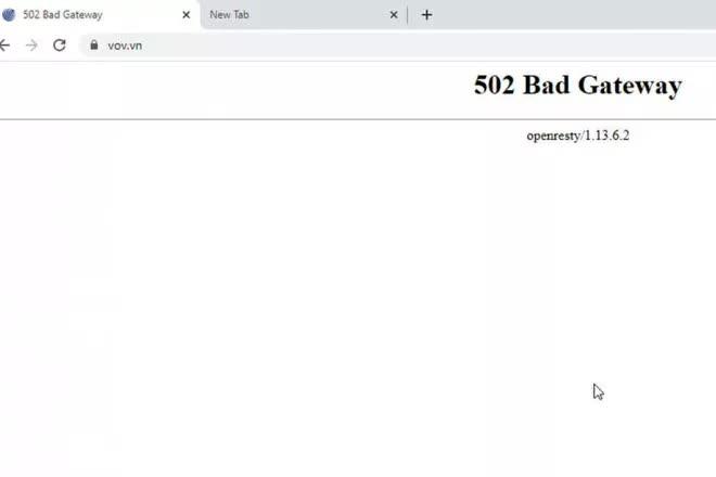 Bộ Công an điều tra cuộc tấn công mạng vào Báo điện tử VOV - Ảnh 1.