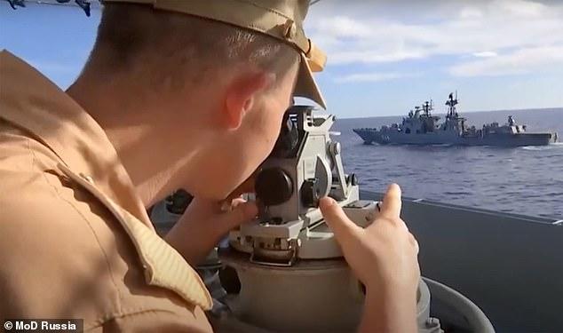 Video cuộc tập trận rầm rộ quy mô lớn của Nga trước thượng đỉnh Putin - Biden - ảnh 3