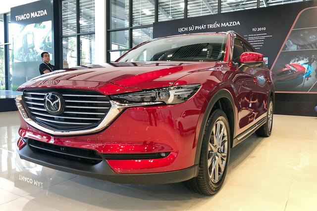 Kia, Mazda đồng loạt giảm giá nhiều xe hot tại Việt Nam: Cerato, CX-8 rẻ nhất phân khúc, Sorento ưu đãi mạnh cạnh tranh Santa Fe - Ảnh 3.
