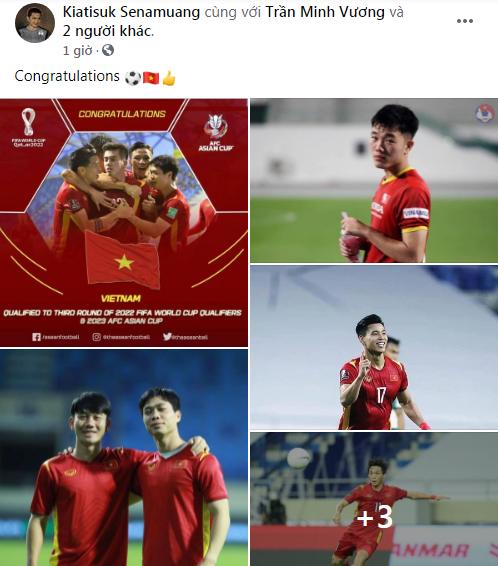 HLV Kiatisuk chúc mừng tuyển Việt Nam, quân bầu Đức có thống kê ấn tượng trên đất UAE - Ảnh 1.