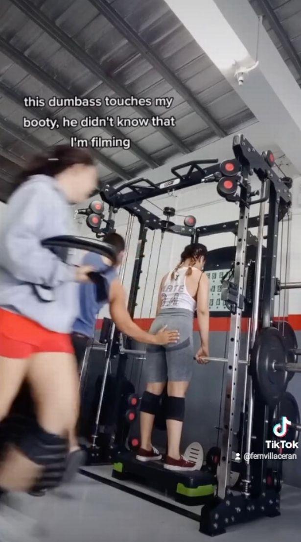 Bị huấn luyện viên thể hình sàm sỡ, cô gái nghĩ ra chiêu độc để dụ kẻ quấy rối vào bẫy - Ảnh 3.