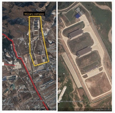 Hé lộ công trình quân sự chưa xác định gần Vạn Lý Trường Thành  - Ảnh 1.