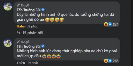 Ông chú Tấn Trường khoe ảnh ngày còn ở quê, bạn gái cũ Quang Hải có bình luận bất ngờ - Ảnh 3.