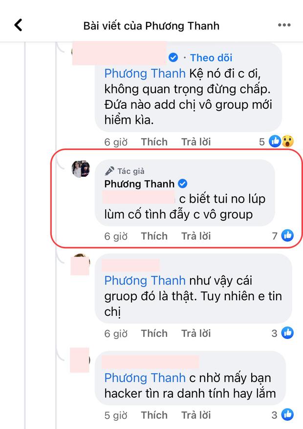 """5 lần 7 lượt phủ nhận cuối cùng Phương Thanh cũng thừa nhận có tồn tại nhóm chat """"Nghệ sĩ Việt""""? - ảnh 1"""