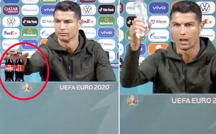 Cú gạt tay trị giá 4 tỷ đô của Ronaldo: Chọn uống nước lọc, không phải để bảo vệ sức khỏe mà bảo vệ thương hiệu?