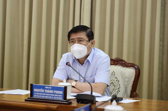 Chủ tịch Nguyễn Thành Phong: Siết chặt, nâng cao mức độ chống dịch là phù hợp với tình hình; Thêm 2 ca tử vong liên quan đến COVID-19 - Ảnh 2.