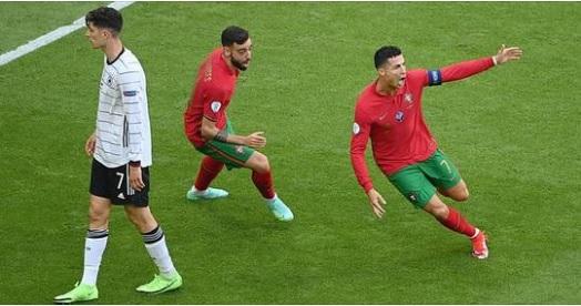 Ronaldo lập công, Bồ Đào Nha vẫn bị Đức dồn vào hiểm cảnh sau màn đại bại thảm thương - Ảnh 1.
