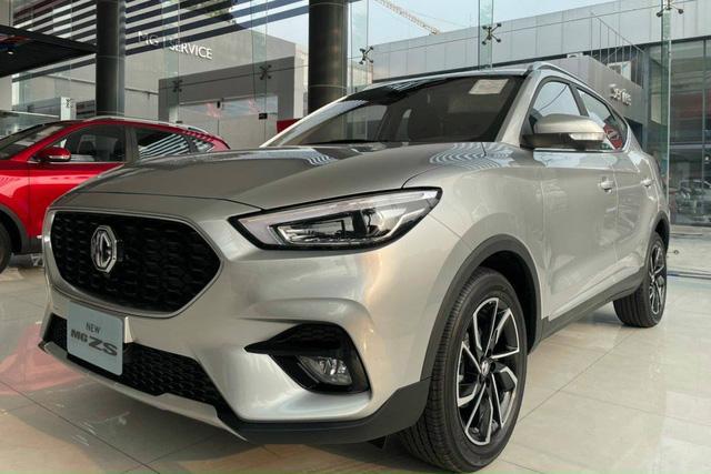 MG ZS 2021 lần đầu giảm giá: Bản tiêu chuẩn chỉ từ 504 triệu, lấy giá rẻ cạnh tranh Hyundai Kona, Kia Seltos - Ảnh 1.