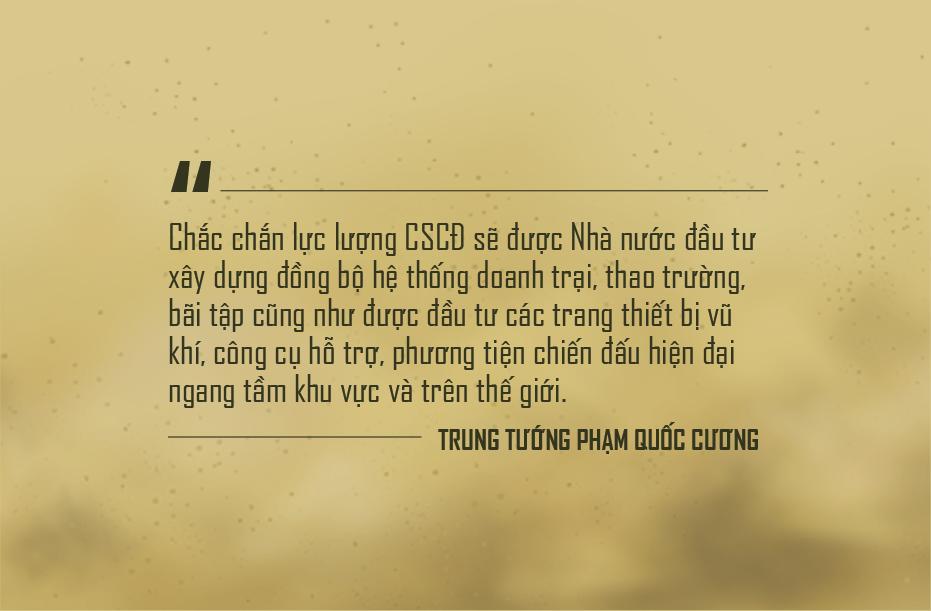 """Trung tướng Phạm Quốc Cương: """"Cảnh sát cơ động sẽ được trang bị máy bay, tàu thủy"""" - Ảnh 11."""