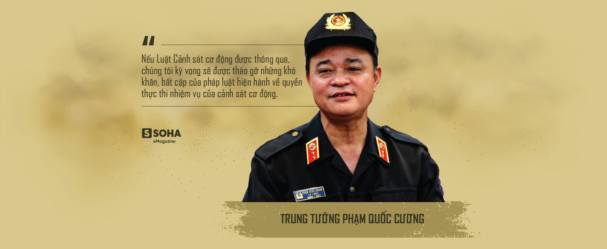 """Trung tướng Phạm Quốc Cương: """"Cảnh sát cơ động sẽ được trang bị máy bay, tàu thủy"""" - Ảnh 13."""