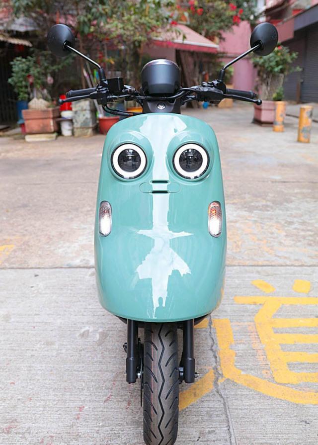 Xe máy Yamaha tiết kiệm xăng, thiết kế lạ chưa từng có, sẽ đấu Honda Vision? - Ảnh 2.