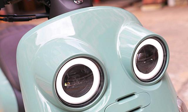 Xe máy Yamaha tiết kiệm xăng, thiết kế lạ chưa từng có, sẽ đấu Honda Vision? - Ảnh 4.
