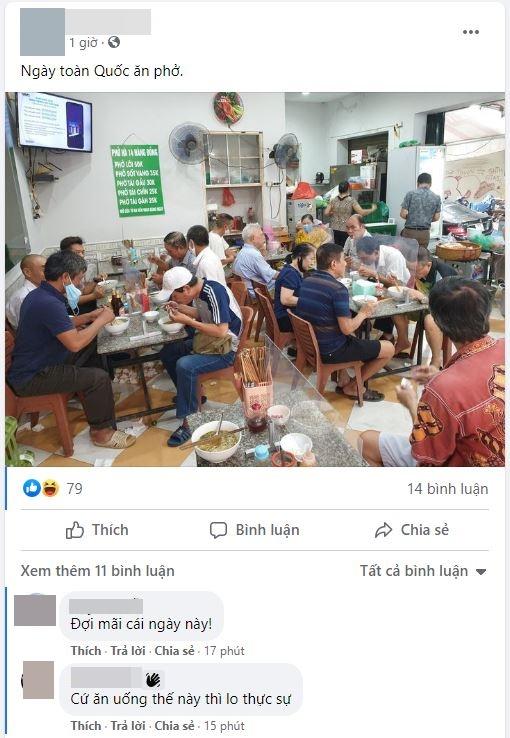 Hôm nay ngày hội toàn dân Hà Nội đi ăn phở, có quán đông nghẹt, 8 giờ sáng đã thông báo hết hàng - Ảnh 5.