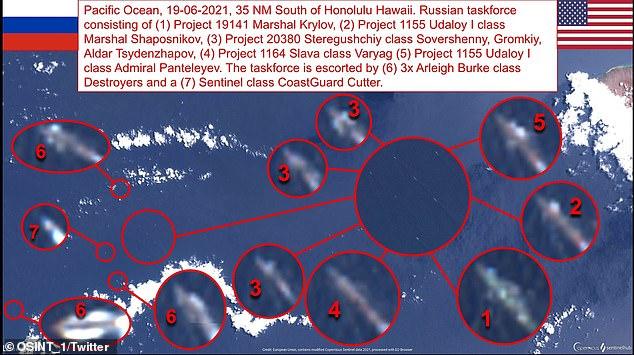 Hình ảnh Nga tập trận lớn nhất từ sau Chiến tranh Lạnh trên Thái Bình Dương - Ảnh 7.