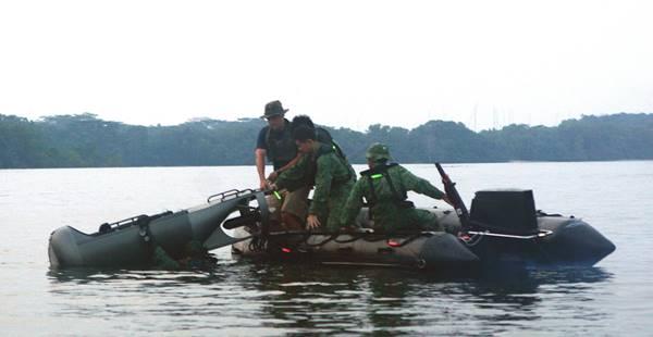 NDU - Đơn vị lặn tinh nhuệ của Hải quân Singapore - ảnh 3