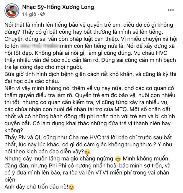 Phía Phi Nhung chính thức lên tiếng sau khi bị nhạc sĩ Chim Trắng Mồ Côi đăng đàn tố uy hiếp và đe doạ - Ảnh 5.