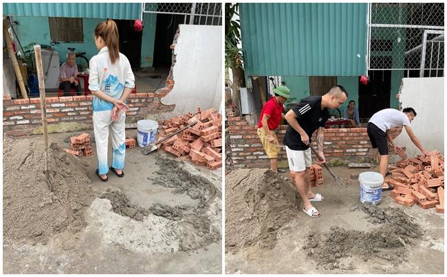 Cho vợ đi học lái xe, hôm sau chồng xách xô vữa sang xây tường mới cho hàng xóm  - Ảnh 1.