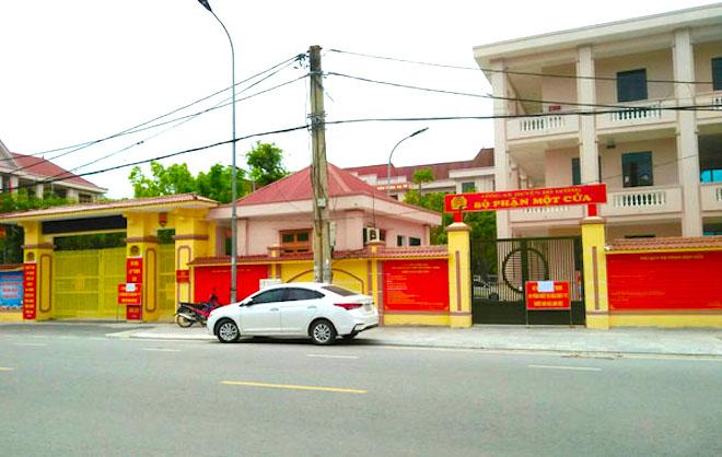 Tạm phong tỏa, cách ly trụ sở công an huyện ở Nghệ An vì một cán bộ mắc Covid-19 - Ảnh 2.