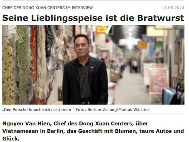 Người Việt giàu nhất nước Đức: Sở hữu trung tâm thương mại rộng 40.000 m2, thu về gần 100 tỷ đồng/năm, có 400 doanh nghiệp đang thuê - Ảnh 1.