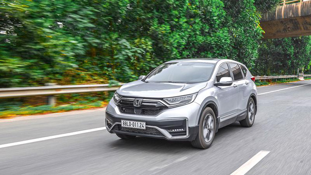 Honda CR-V 2021 giảm hơn 160 triệu đấu Mazda CX-5, Hyundai Tucson - Ảnh 1.