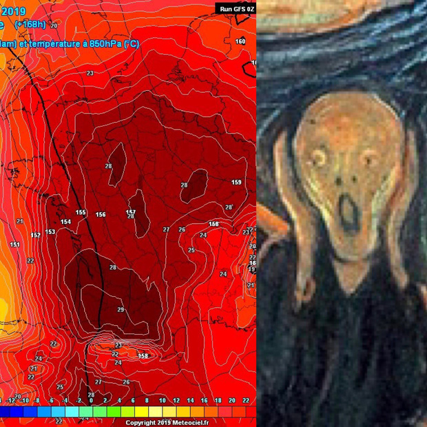 Chùm ảnh nắng nóng kinh hoàng khắp hành tinh: Ngựa lăn ra chết cả đàn, xe đạp cong vành dưới mức nhiệt cực đại - Ảnh 17.