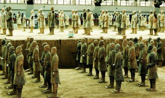 Vén màn bí mật 4 quốc bảo thượng thần trong lăng Tần Thủy Hoàng, sánh ngang đội quân đất nung - Ảnh 3.