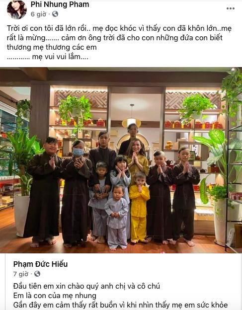 Con nuôi lo lắng, công khai chuyện Phi Nhung suy sụp tinh thần sau ồn ào với Hồ Văn Cường - Ảnh 1.