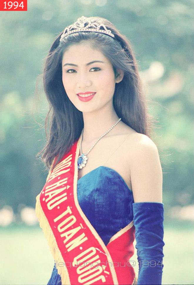 Nhan sắc đỉnh cao, khiến nhiều người thích thú của Hoa hậu Thu Thủy thời trẻ - Ảnh 6.