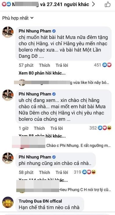 Phi Nhung hát tặng và khẳng định không giận bà Phương Hằng - Ảnh 1.
