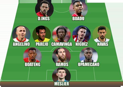 Đội hình những ngôi sao bị bỏ rơi ở EURO 2020 - Ảnh 1.