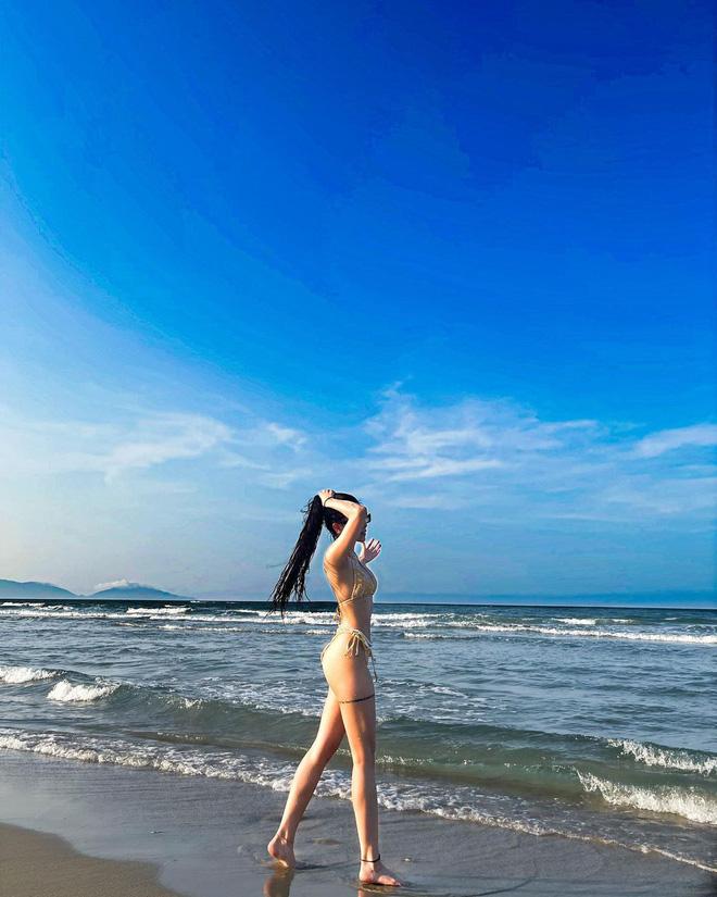 Rich kid Đặng Tiểu Tô Sa hâm nóng đường đua sexy bằng bộ ảnh bikini căng đét: Áp lực quá! - Ảnh 6.