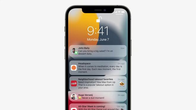 iOS 15 chính thức: Nhiều ứng dụng có giao diện mới, nhận dạng chữ viết từ ảnh, lưu khoá xe và thẻ căn cước vào iPhone - Ảnh 4.