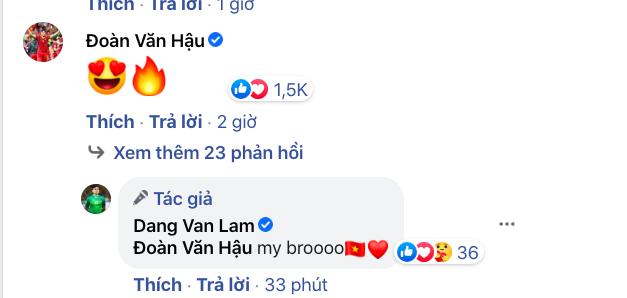 Các cầu thủ ĐT Việt Nam ùa vào bài đăng của Văn Lâm, trợ lý thầy Park tiết lộ điều đặc biệt từ UAE - Ảnh 5.
