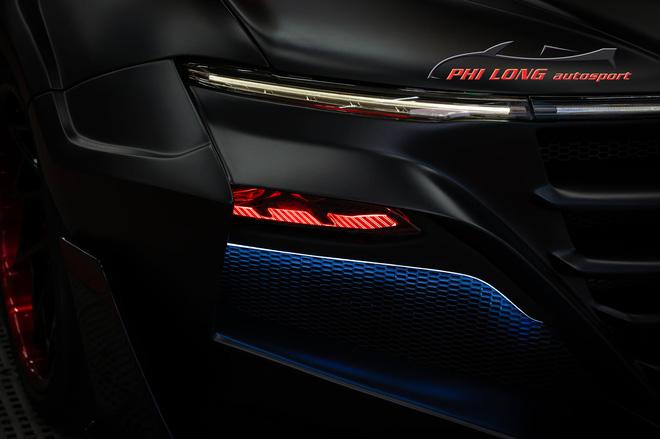 Bản độ VinFast Lux A2.0 gây sốt của thợ Việt: Thiết kế độc nhất vô nhị, đẹp không kém siêu xe - Ảnh 4.