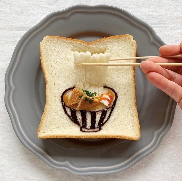 Xuýt xoa những lát bánh mì sandwich đẹp như tranh của cô gái Nhật Bản - Ảnh 6.