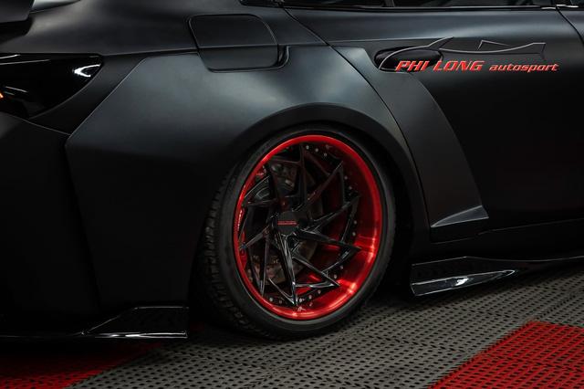 Bản độ VinFast Lux A2.0 gây sốt của thợ Việt: Thiết kế độc nhất vô nhị, đẹp không kém siêu xe - Ảnh 11.