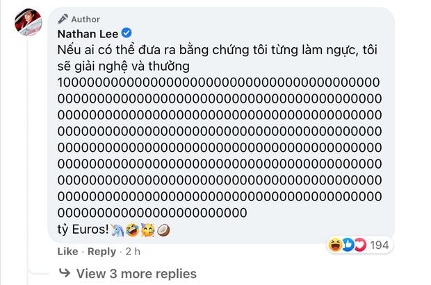 Bị Cao Thái Sơn nói ngực đầy silicon, Nathan Lee đá xéo cực gắt, chế lại phát ngôn 10 năm trước của đàn em - Ảnh 1.