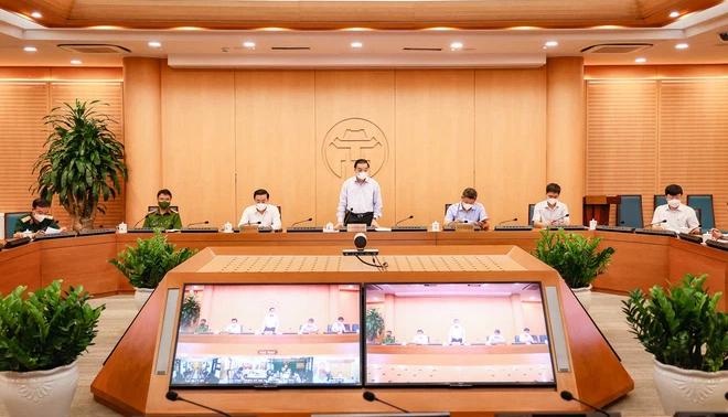 Chủ tịch Hà Nội: Nguy cơ lây lan dịch bệnh hiện rất lớn, chỉ trễ chỉ 1 - 2 ngày là rất nguy hiểm - Ảnh 1.